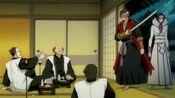 Koga va a asesinar a los Shinigamis de élite