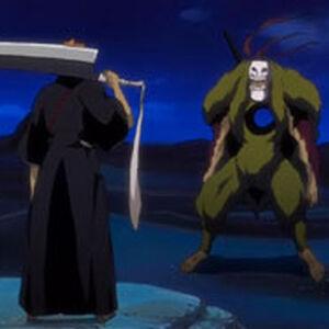 Fake Ichigo vs. Grand Fisher.jpg