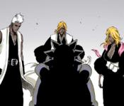 Kensei, Rose y Rangiku Zombificados