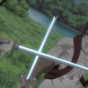 Byakuya blocks Kōga's attack..jpg