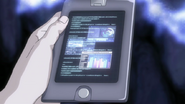 Urahara picks up Mod Soul data