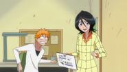 O206 Rukia otwiera Dziennik Pracy Przedstawiciela Shinigami