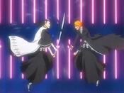 Ichigo vs Byakuya 2