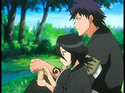 Rukia y Kaien