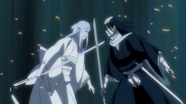 Walka o honor, Byakuya kontra Renji