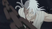 Kokuto usa su candena contra Ichigo