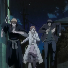 Ichigo and the others search for Nozomi.png