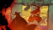 Ichigo derrotando a Shuren