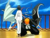 Reencuentro Ichigo y Rukia