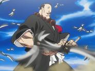O28 Uwolniony miecz Jirobo