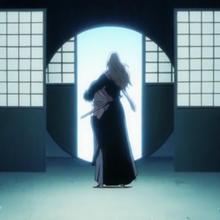 Reigai-Rangiku opens the Senkaimon.png