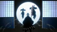 Ichigo and Rukia enter Senkaimon