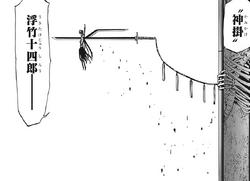 Ukitake Shikai Infierno