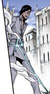 Uryu recibe la flecha de su padre