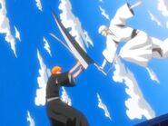 Ichigo vs Hollow Ichigo o Zangetsu