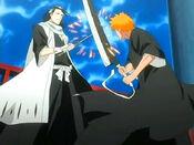 Ichigo vs Byakuya en la Torre de la Penitencia