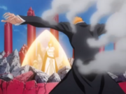 Ichigo melindungi Nel Orihime.png