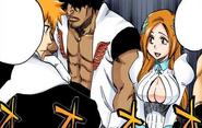 Orihime recuerda su primera vez en la SS