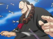 O28 Jirobo napawa się mocą swojego miecza
