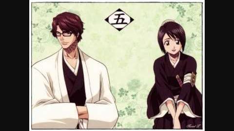 Ichirin_no_Hana_-_Aizen_Sosuke_and_Momo_Hinamori_(Bleach_Concept_Cover)