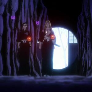 Rangiku and Nanao make their way through the Dangai.png