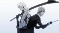 Kokuto supera la velocidad de Ichigo