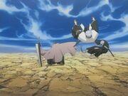 Ichigo defeats Chojiro and Isane.jpg