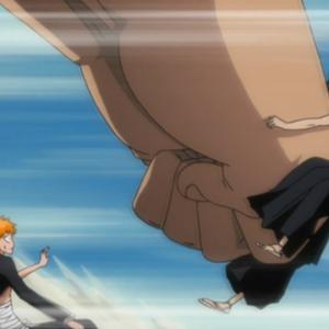 Yammy punches Kenpachi.png