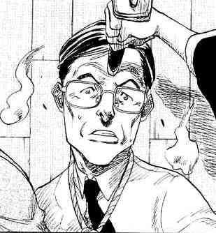 Duch noszący okulary