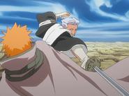O54 Ichigo unika ataku Sasakibe