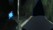 Inaba realises Uryu is a Quincy