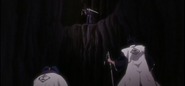 Ichigo appears before the two captains