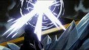 Sode no Shirayuki a punto de matar a Rukia