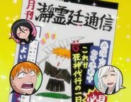 O219 Dziennik Pracy Przedstawiciela Shinigami na okładce Głosu Seireitei