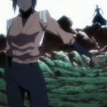 Yoruichi halts the Reigai advance.png
