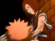 Hanatarou cura a Ichigo