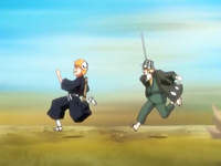 O20 Kisuke celuje w Ichigo za pomocą Hozuri.png