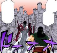 Sado y Ganju vs las Estatuas