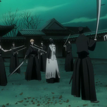 Ichigo arrested by the other Shinigami.png