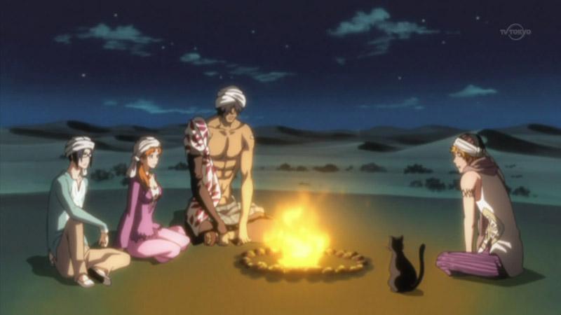 Wątek poboczny, Ichigo i magiczna lampa