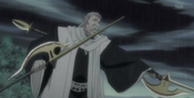 Ginrei Kuchiki preparado para sellar a Koga
