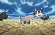 O54 Ichigo unieszkodliwia Isane, Omaedę i Sasakibe