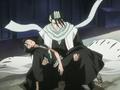 Byakuya Catches Rukia
