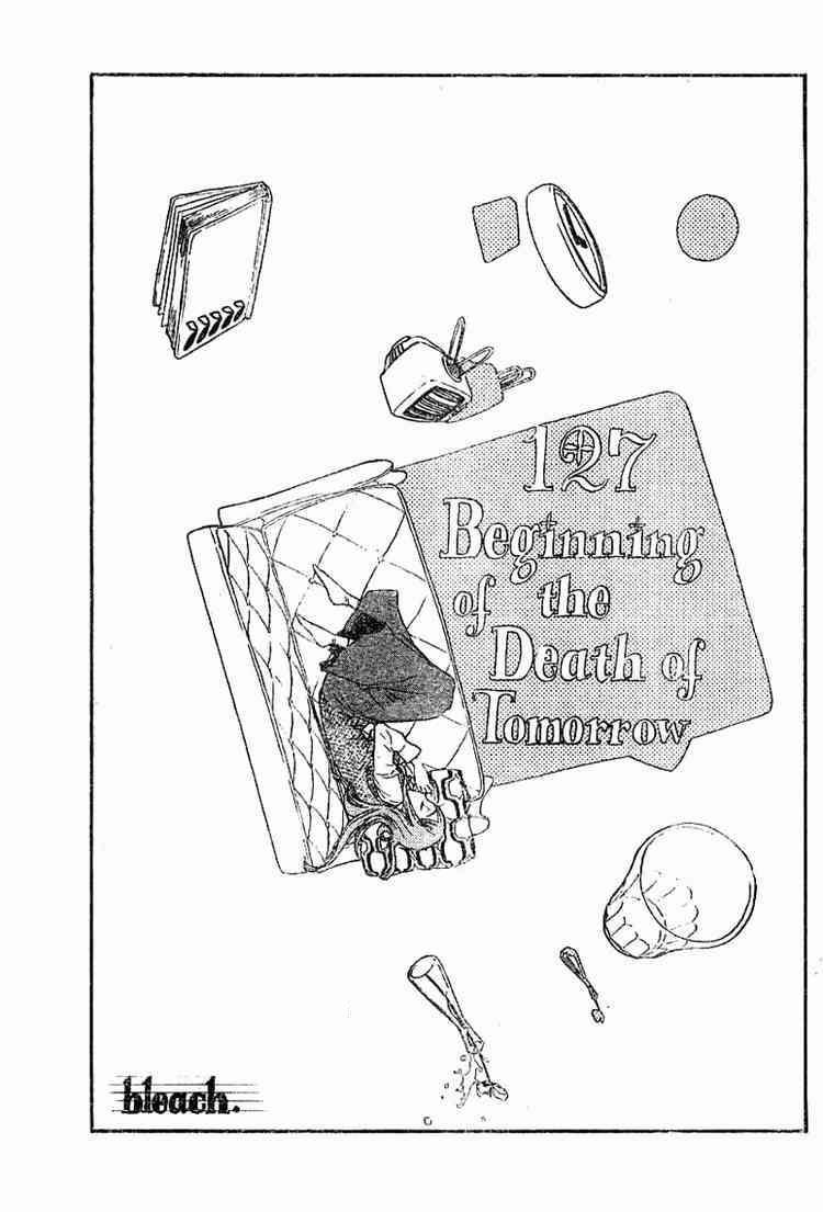 Kapitel 127: Beginning of the Death of Tomorrow – Beginn des Todes von morgen