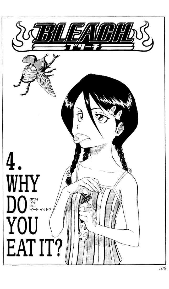 Kapitel 004: WHY DO YOU EAT IT? – Warum isst du das?