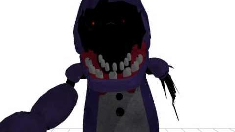 MMD Old Bonnie Jumpscare