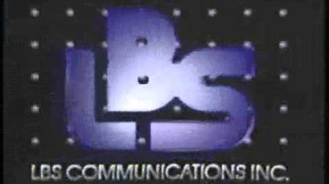 LBS Communications Inc. Logo 1989-1991 Warp Speed -2