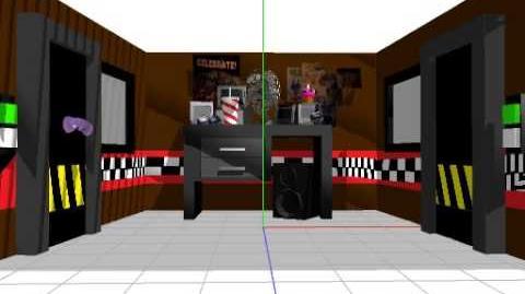 MMD FNaF If animatronics break through Doors