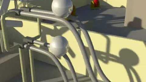 Computer Animated Rube Goldberg