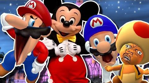 SMG4- Mario goes to DIDNEY WORL
